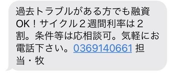 0369140661からのメール